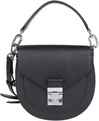 MCM Black Leather Patricia Mini Tote Bag