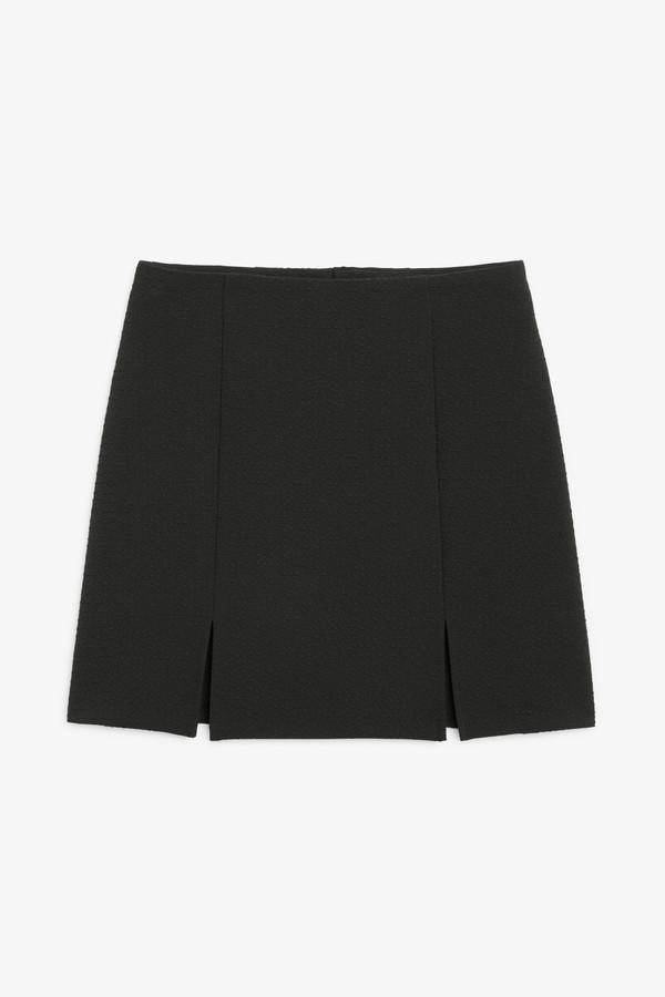 Monki Fitted mini skirt