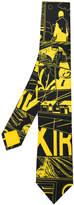 Prada graphic print tie