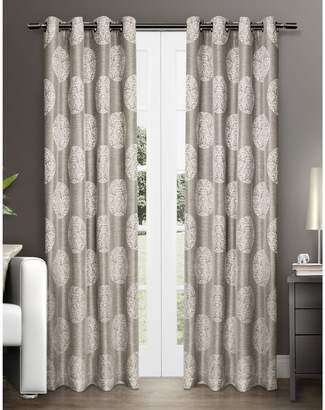 Home Outfitters Akola Two-Pack Window Curtains