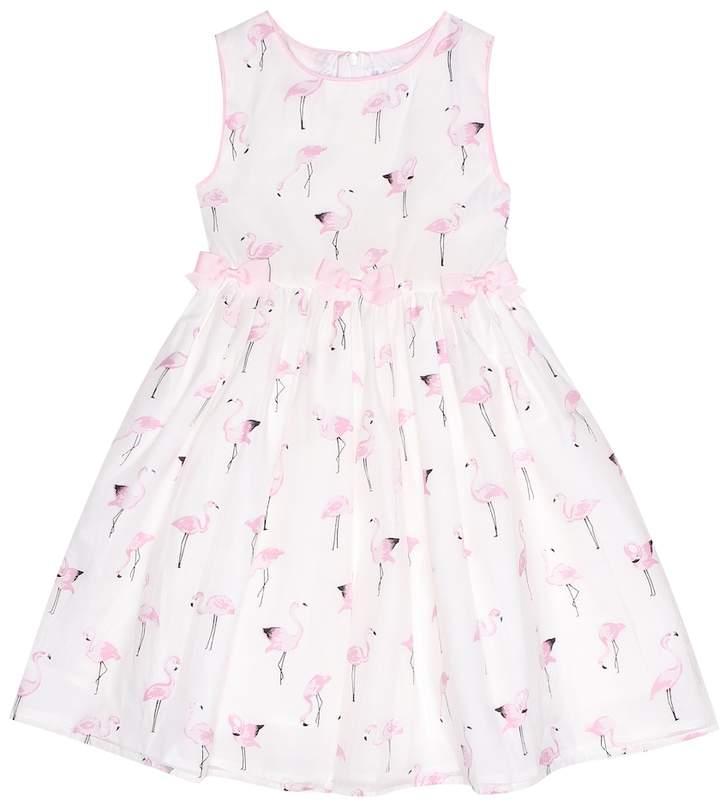 Rachel Riley Printed cotton-blend dress