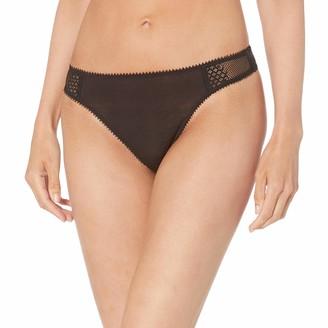 OnGossamer Women's Silk Modal Thong Panty