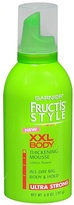 Garnier Fructis Style XXL Body Thickening Mousse, Ultra Strong Hold