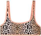 Reina Olga leopard bikini top