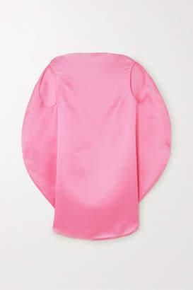 Nina Ricci Silk-organza Blouse - Pink