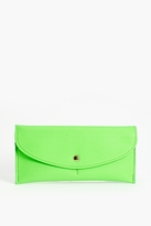 Thumbnail for your product : Nasty Gal Atomic Neon Wallet - Green