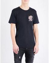 Balmain Brand-logo Cotton-jersey T-shirt