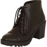Dorothy Perkins Womens *London Rebel Lace Up Ankle Boots- Black