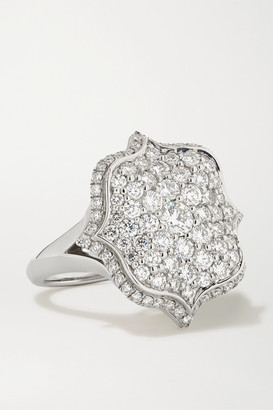 Bayco Platinum Diamond Ring - Silver