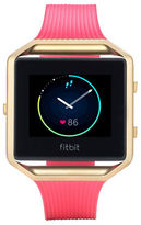 Fitbit Blaze Goldplated Stainless Steel Fitness Tracker Band