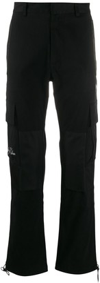 Marcelo Burlon County of Milan Cross cargo trousers