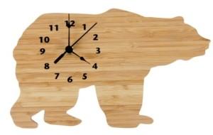Trend Lab Bamboo Bear Wall Clock Bedding