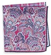 Nordstrom Men's 'Three Panel' Silk Pocket Square