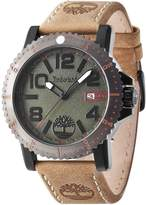 Timberland Gents Hyland Brown Strap Watch