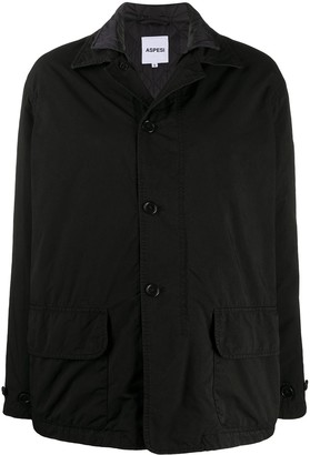 Aspesi Reversible Buttoned Jacket