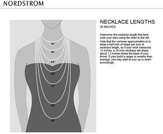 Sterling Forever 14K Gold Plated Herringbone Chain Necklace