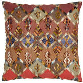 "Pine Cone Hill Anatolia Embroidered Kenya Pillow, 20""Sq."