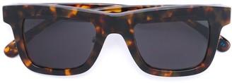 Italia Independent Square Frame Sunglasses