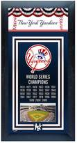 New York Yankees World Series Champions Framed Wall Art