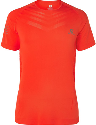 Salomon Sense Pro Logo-Detailed Stretch-Jersey T-Shirt