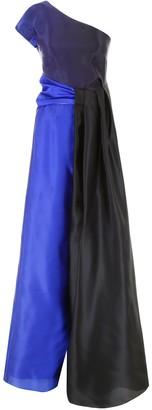 Lanvin One-Shoulder Gown