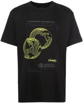 Marcelo Burlon County of Milan globe-print boxy T-shirt