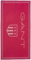 Gant Shield Beach Towel - 100x180cm - Bright Magenta