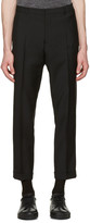 Jil Sander Black Slim Fit Suit Trousers