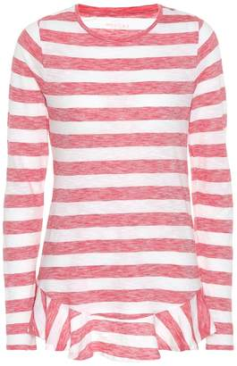 81 Hours 81hours Nella striped cotton top