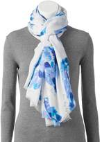 Love This Life love this life Watercolor Sunflower Oversized Wrap Scarf