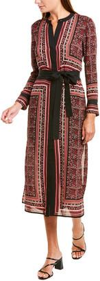 A.L.C. Isaacs Silk Midi Dress