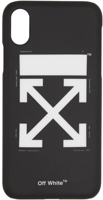 Off-White Black and White Arrows Carry OV iPhone X Case