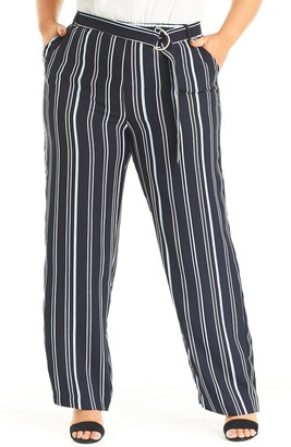 Estelle Sky Stripe Pants