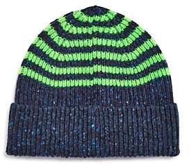 Paul Smith Neon-Striped Beanie