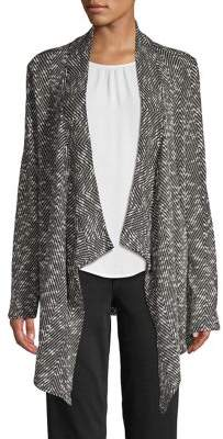 Vince Camuto Draped Open-Front Cardigan