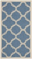 """Safavieh Courtyard Collection CY6243-243 and Beige Indoor/ Outdoor Area Rug, 2 feet by 3 feet 7 inches (2' x 3'7"""")"""