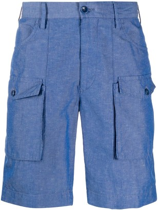 Incotex Slim-Fit Cargo Shorts