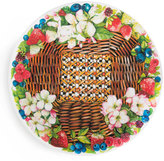 Mackenzie Childs MacKenzie-Childs Berries & Blossoms Serving Platter