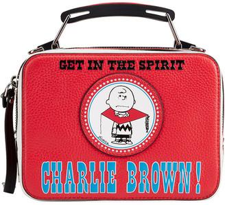 Marc Jacobs x Peanuts Charlie Brown The Box Crossbody Bag