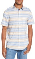 Quiksilver Men's Aventail Stripe Shirt