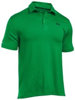 Under Armour 2016 ColdBlack Tee Time Performance Stripe Mens Golf Polo Shirt