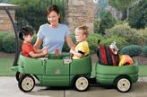Step2 Step 2 Wagon for Two & Tag-Along Trailer Combo