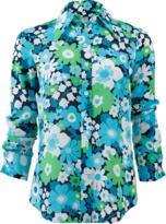 Michael Kors Floral Button Down Shirt