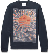 Folk Goss Brothers Setting Sun Loopback Cotton-Jersey Sweatshirt