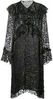 IRO leopard print frills dress