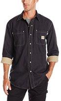 Carhartt Men's Flame Resistant Canvas Shirt Jacket