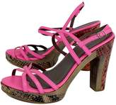 Rebecca Taylor Hot Pink Strappy Heels