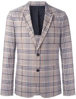Ami Alexandre Mattiussi half lined 2 button jacket - men - Wool - 50