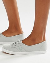 Fred Perry Gray Aubrey Sneakers