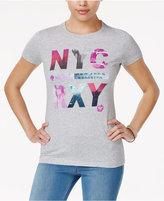 Roxy Juniors' NYC World Graphic T-Shirt